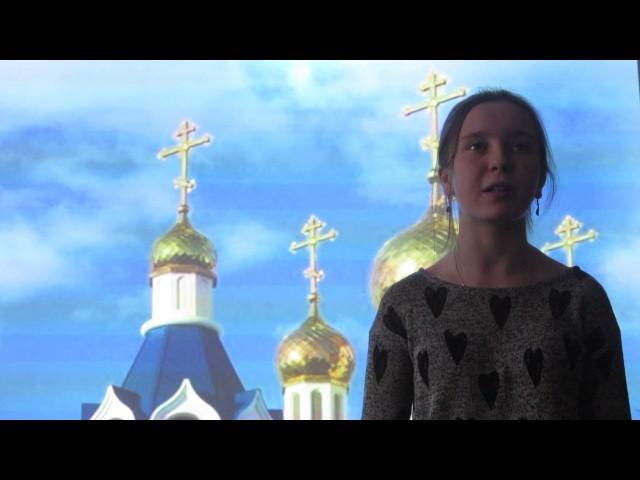 Изображение предпросмотра прочтения – ЕкатеринаКирилюк читает отрывок изпроизведения «Панорама Москвы» М.Ю.Лермонтова