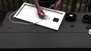 Solar Cooling Fans For Chickens -easy, Diy, Portable, Cheap, Effective.