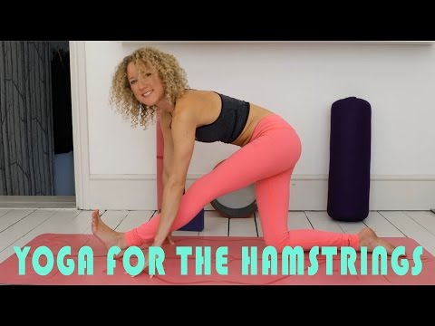 Yoga For Tight Hamstrings (20 min practice) | Natasha Kerry