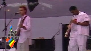 Sting - Driven To Tears (MTV) (Live Aid)
