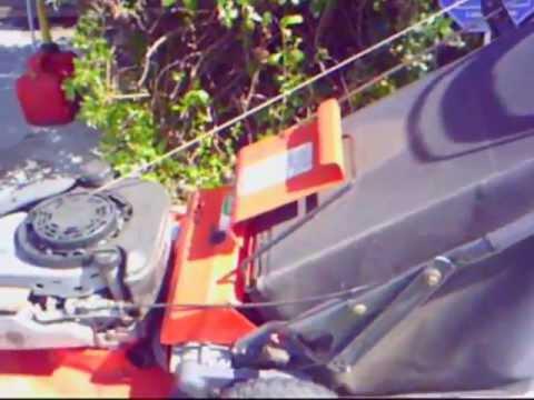 Scotts 21 Quot Rear Wheel Drive Lawn Mower Lm21sw Video