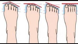 Das sagen deine Füße über deine Persönlichkeit.