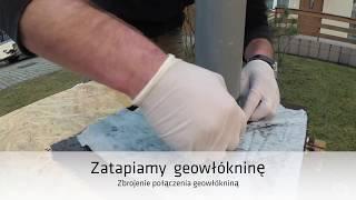 Zabezpieczanie połączenia komina wentylacyjnego z dachem