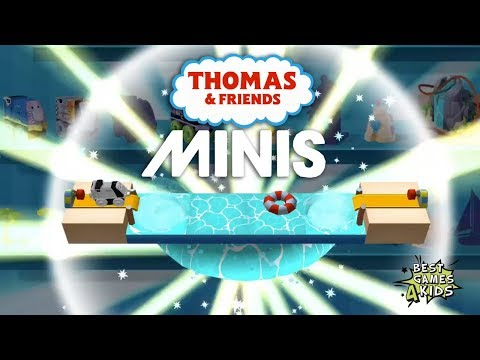 Dive through THE WHIRLPOOL TUNNEL - SPENCER'S AQUA PARK | Thomas & Friends Minis #86 By Budge