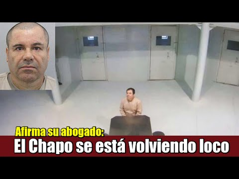 """El Chapo' Guzmán se está volviendo """"loco, calvo y fármaco dependiente"""": Abogado"""