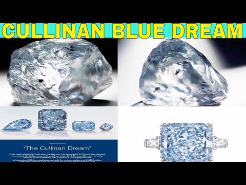 Petra Diamonds finds 122.54 Carats Blue Diamond in The Cullinan Mine sold $27,600,000
