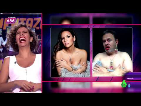 Miki Nadal parodia los selfies de Cristina Pedroche   Zapeando   06.07.16