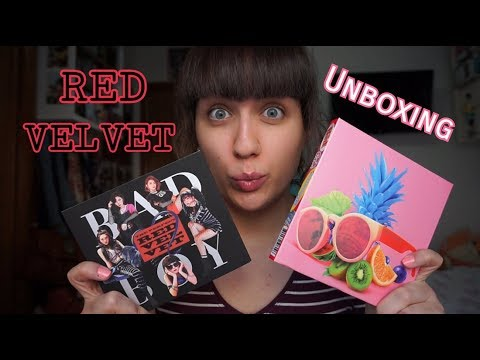 UNBOXING K-POP: Red