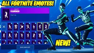 "'NOUVEAU' ""SKULL RANGER"" SKIN SHOWCASE AVEC 80 FORTNITE DANCES - EMOTES..!"