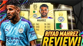 FIFA 21 RIYAD MAHREZ (85) PLAYER REVIEW! FIFA 21 ULTIMATE TEAM!