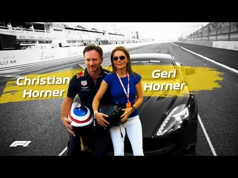 Christian Horner's Spicy Lap With Geri Horner! | Pirelli Hot Laps