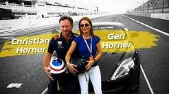 Christian Horner's Spicy Lap With Geri Horner!   Pirelli Hot Laps