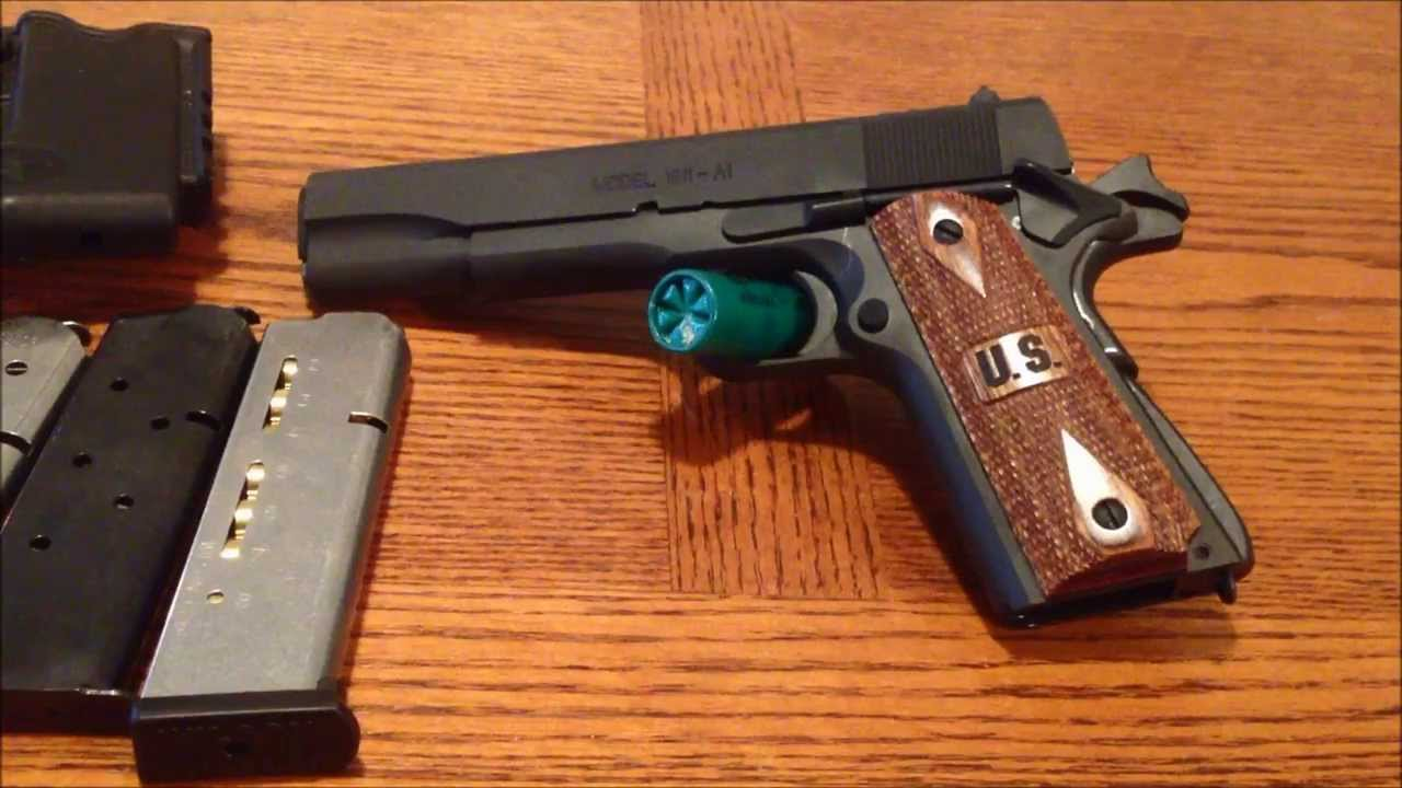 Springfield Armory 1911 A1  45ACP Government Issue G I