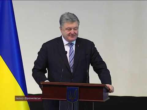 Президент України Петро Порошенко зустрівся з студентами