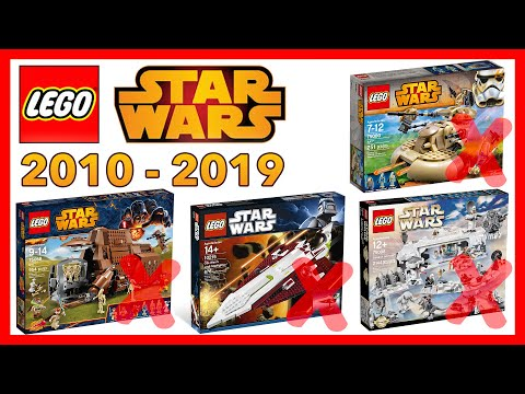 WORST LEGO Star Wars Sets Of The DECADE! (2010-2019)