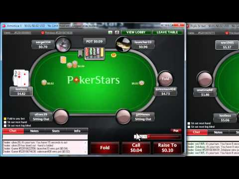 Pokerstars Bet Shortcut Quick Buttons  - Bet Slider Options - ThePokerObsession.com