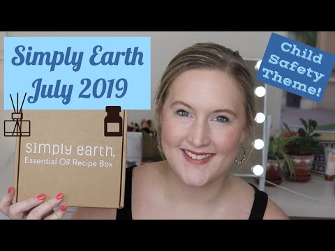 simply-earth-july-2019-unboxing-|-essential-oil-recipe-box