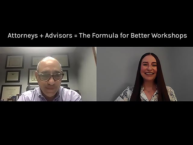 Attorney Breaks Down Benefits of Co-Hosting Workshops with A Financial Advisor