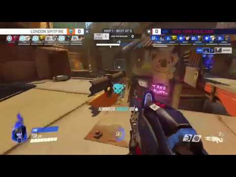 You Wont Believe This Widowmaker Play by Pine - New York Excelsior v London Spitfire