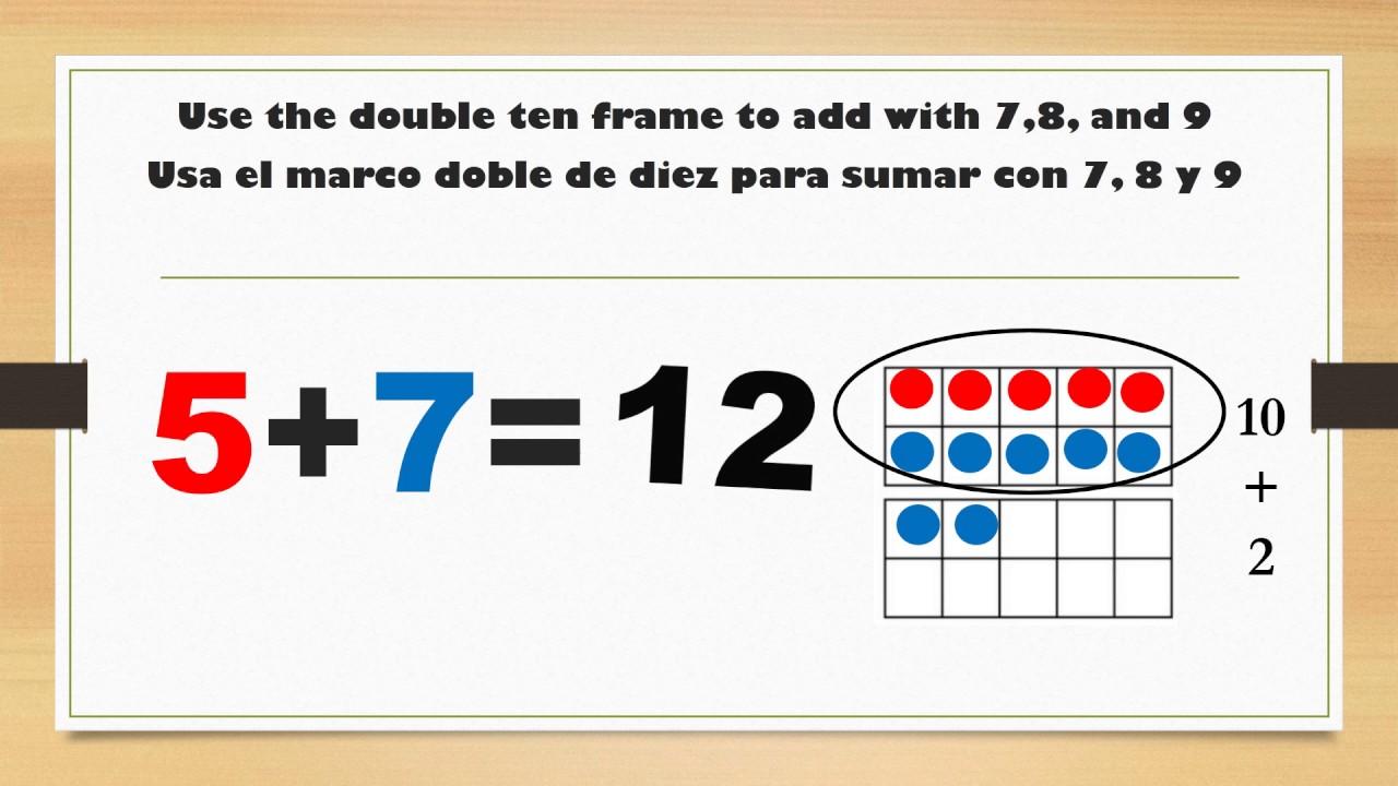 7,8, &9 w/ Double Ten Frame - YouTube