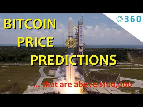 Bitcoin Price Graph & Bitcoin Price Charts Used For $100,000 Bitcoin Price Predictions