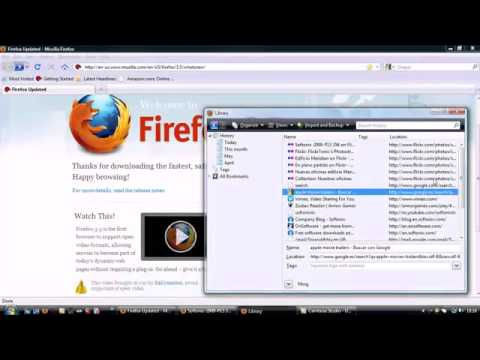 New features in Firefox 3.5