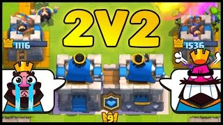 Legendary Chest + 2 v 2 Clan Battle