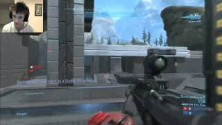 UNBELIEVABLE Epic reactions Halo: Reach Gameplay! Pit CTF