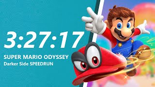 Super Mario Odyssey - Darker Side Speedrun in 3:27:17 [World Record]