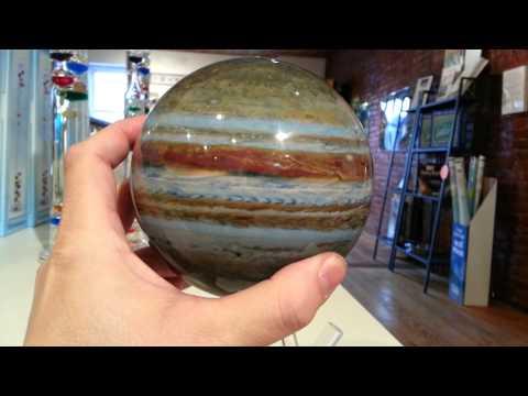 MOVA solar spinning Jupiter globe