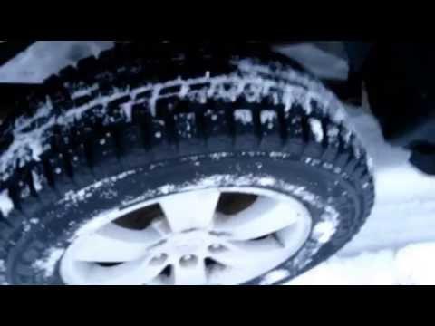 Yokohama F700Z vs Dunlop WinterIce 01, тест