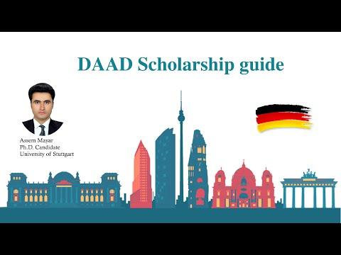 DAAD scholarship guide