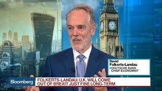Oct.18 -- Deutsche Bank AG's Chief Economist David Folkerts-Landau ...