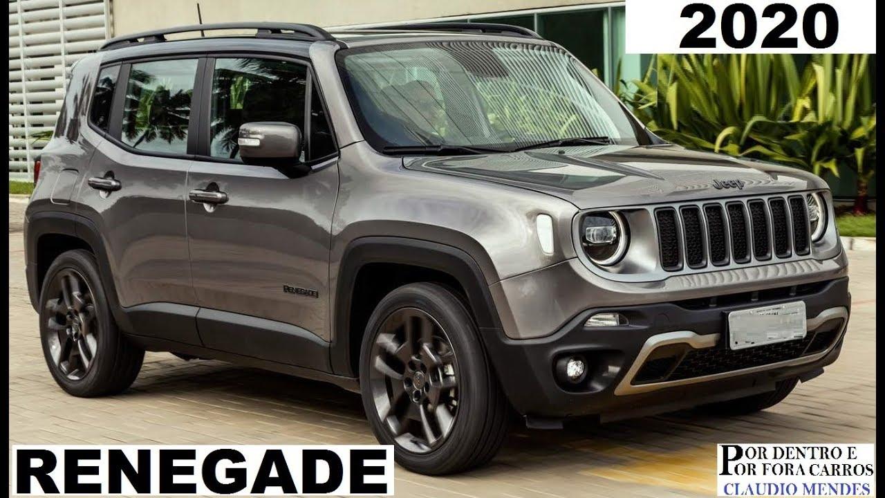 Jeep Renegade 2020 Cores Precos Versoes Muitos Detalhes Youtube