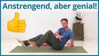 Yoga Übungen Bauchmuskeln trainieren  ✅ meine Lieblingsübungen inkl. Muskelkater-Garantie