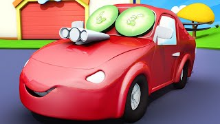 Tom the Tow Truck's Car Wash -  Baby Jerry Dry Got DRY and DUSTY - Car City ! Cars Cartoon for kids