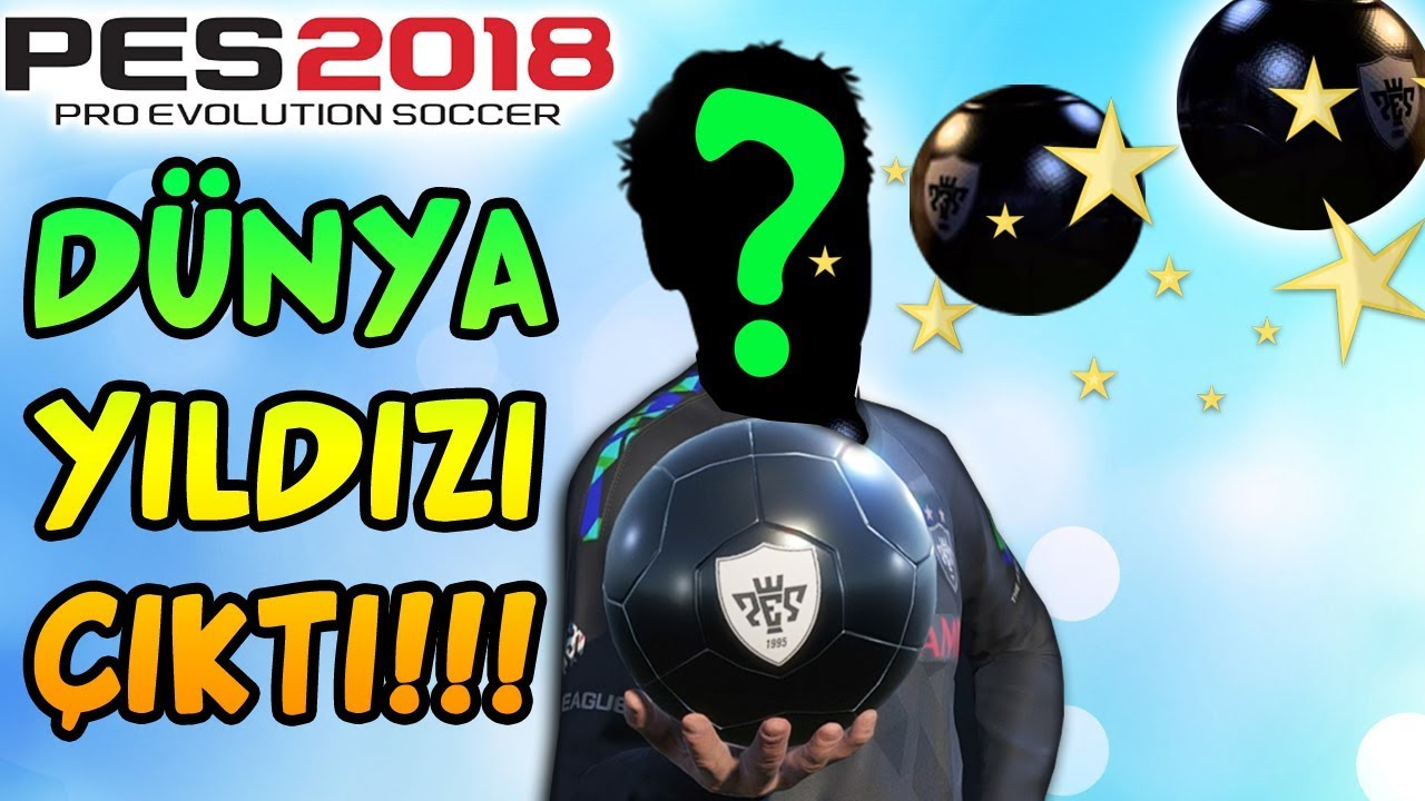 EŞİM (EŞSES) SİYAH TOP AÇTI 2 DÜNYA YILDIZI ÇIKTI! | PES 2018