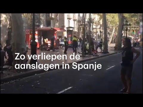 Overzicht: zo verliepen de aanslagen in Spanje - RTL NIEUWS