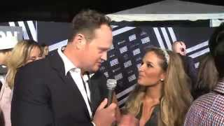 Jessie James Decker hits Fashion Rocks red carpet talks Eric and the New York Jets with Brad Blanks