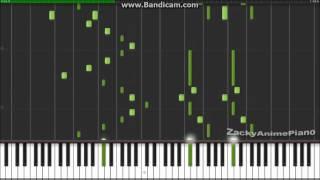 Shingeki no Kyojin Ending 2 - Great Escape - Synthesia (Piano) (ZackyAnimePiano)