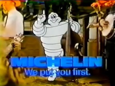 Michelin Tires 'Michelin Man' Commercial (1979) - YouTube
