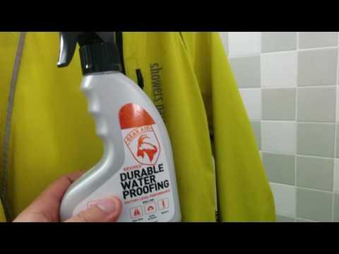 Showers Pass Rain Jacket , Nikwax, Gear Aid Waterproofing, kitchen dish gloves, extra socks