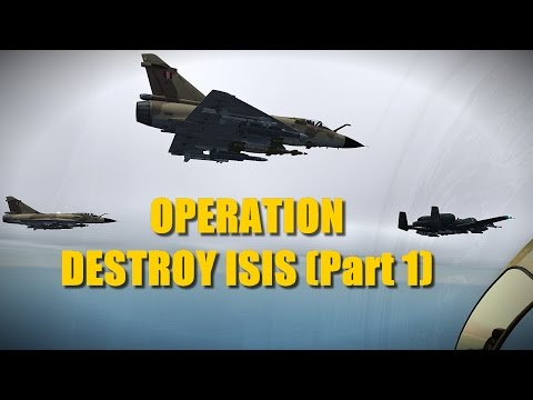 Reapers Attack Well-Known Terrorist Group (part 1) | A-10 F-5 Mirage 2000 | DCS