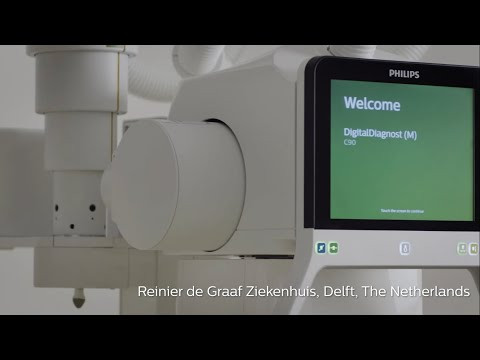 DigitalDiagnost C90 First global installation Timelapse