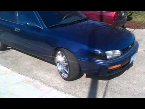 my 96 camry on 20s youtube my 96 camry on 20s youtube