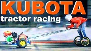 DRAG RACING of farm tractors !
