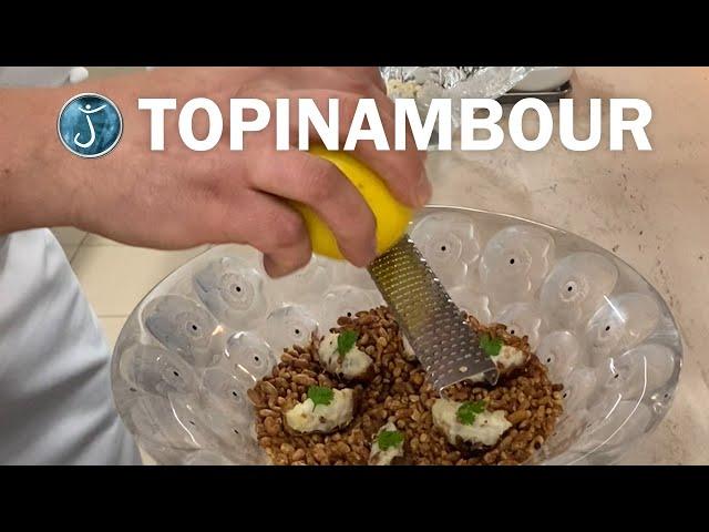 RECETTE avec le TOPINAMBOUR by Jérôme Schilling