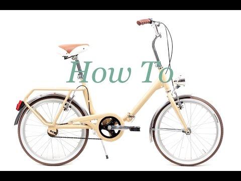 Cómo montar bicicleta plegable Capri Bambina - biciclasica com