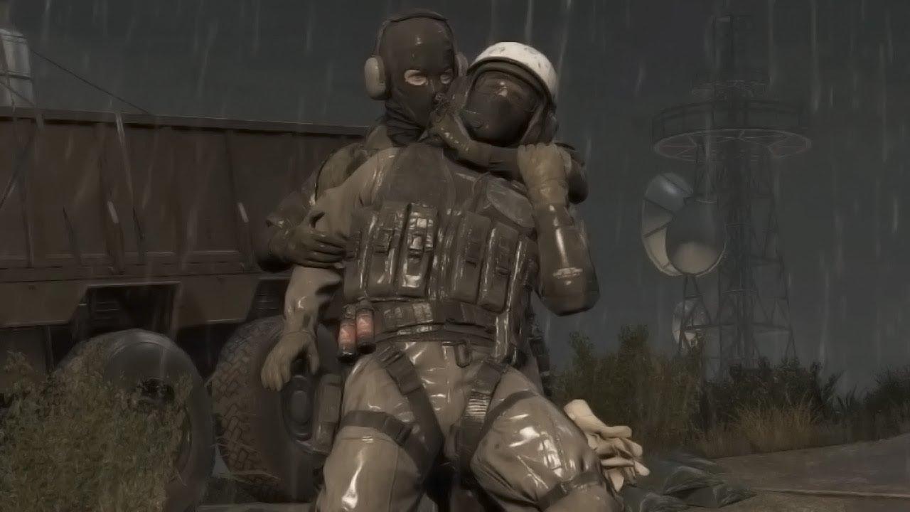 Gyaku Ryona Metal Gear Solid V Ground Zeroes Msf Soldier Vs Xof