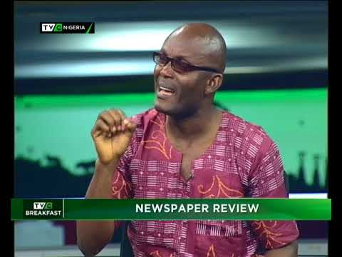 TVC Breakfast Nov. 21st 2017 | Newspaper review